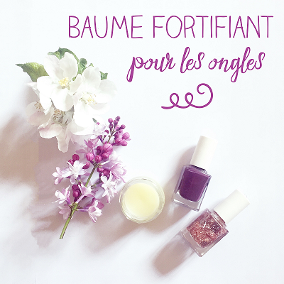 Baume fortifiant pour les ongles